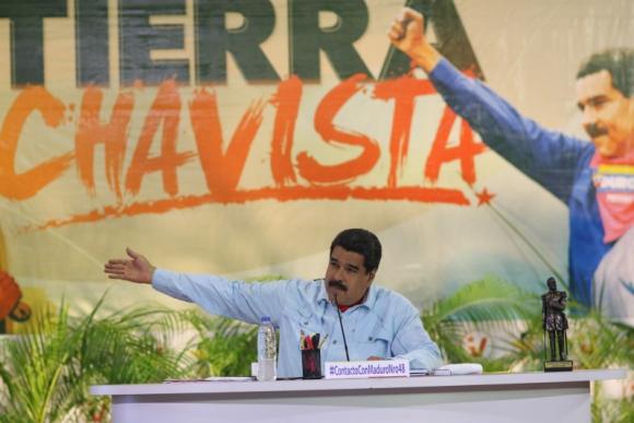 Nicolás Maduro, presidente de Venezuela. Foto: EFE.