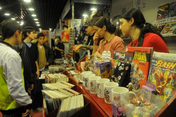 Montevideo Cómics es la gran vidriera de una pequeña industria que se mueve todo el año.