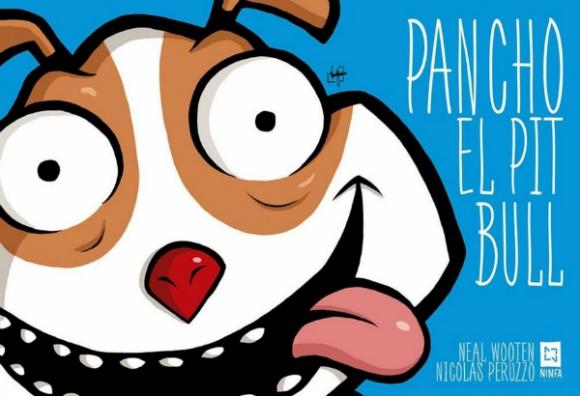 Pancho el Pit Bull, dibujado por Nicolás Peruzzo