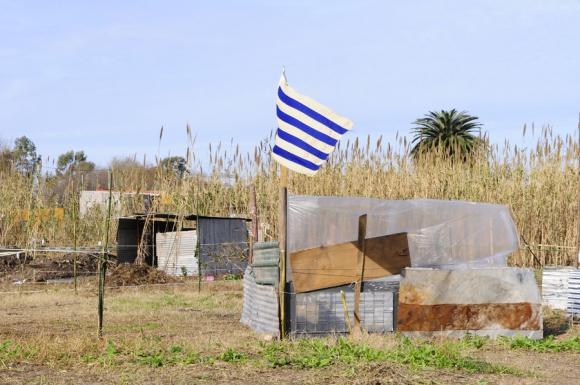 Asentamiento en Parque Guaraní. Foto: M. Bonjour