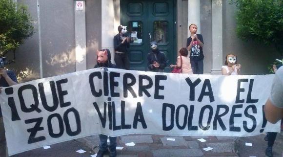 Manifestación en el Municipio CH. Foto: grupo de Facebook
