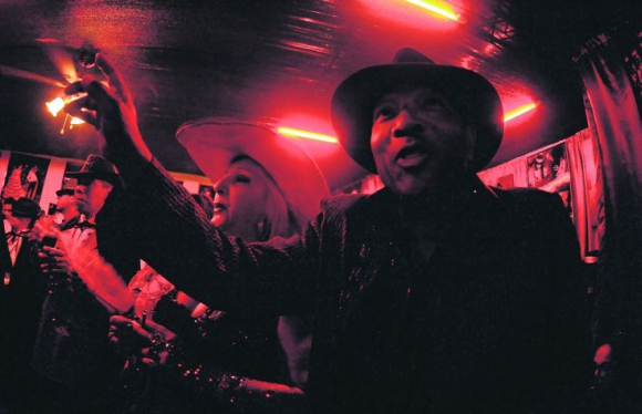 Una noche al estilo afroamericano. Foto: Fernando Ponzetto