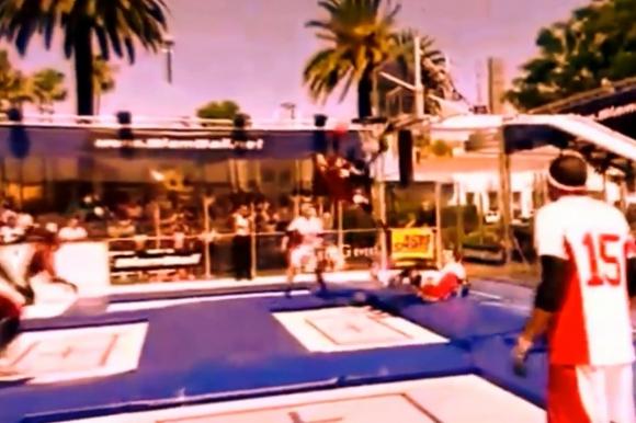 Slamball. Captura de video