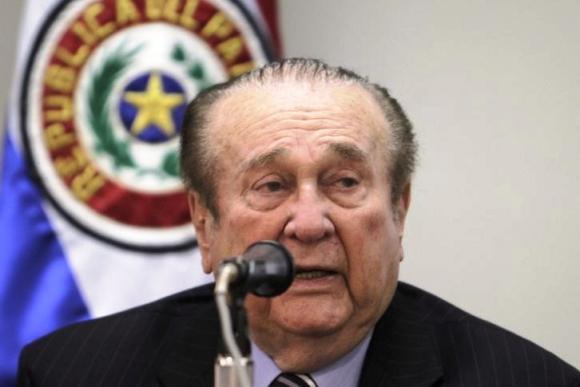 Nicolás Leoz, en 2013. Foto: Reuters.
