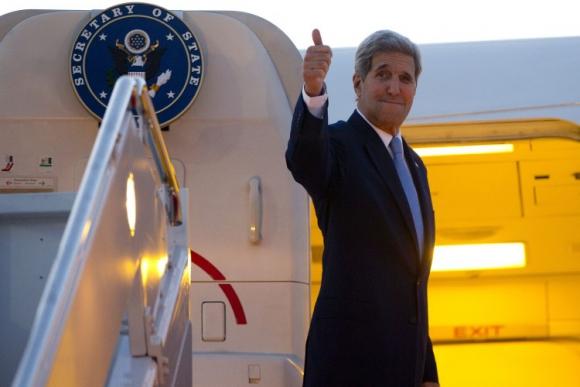 El Secretario de Estado de EE.UU., John Kerry, llegó a Cuba. Foto: AFP.