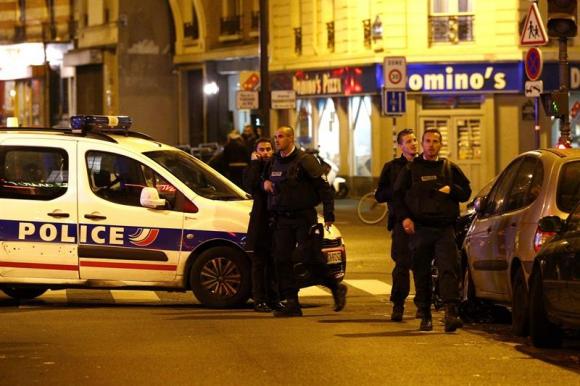 Atentado en Paris. Foto: EFE