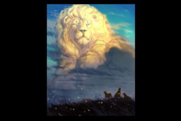 Así quedó el dibujo de Aaron Blaise en homenaje al león Cecil.