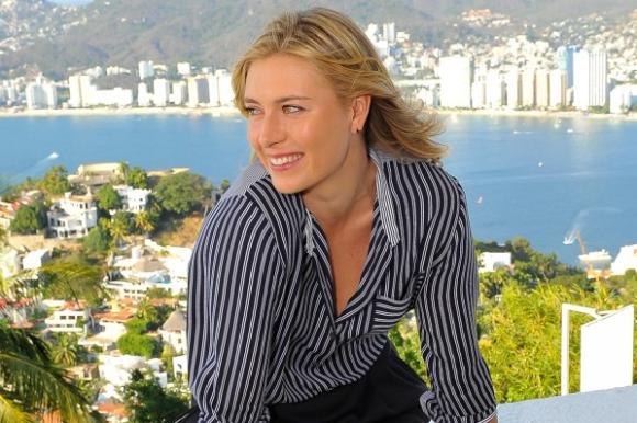María Sharapova.