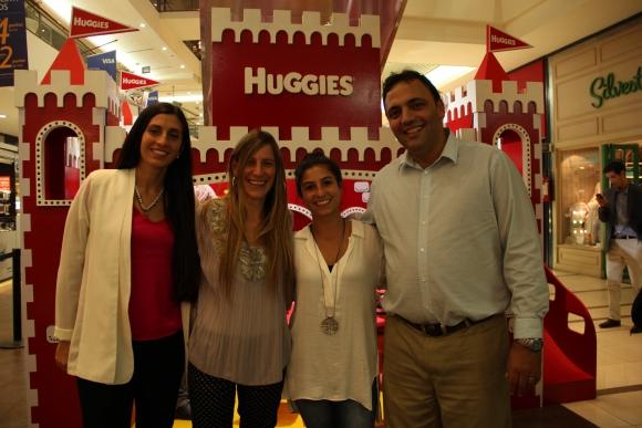 Cecilia Faruelo, Eleonora Campiotti, Annia Gaitán, Gustavo Martínez.