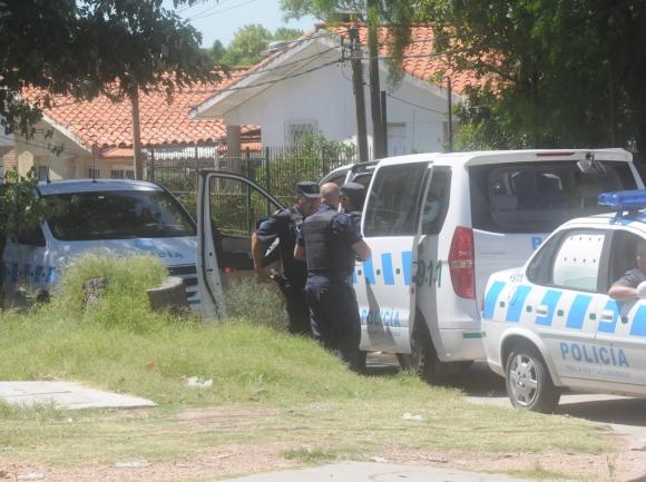 Operativo policial en el Cerro Norte. Foto: Francisco Flores
