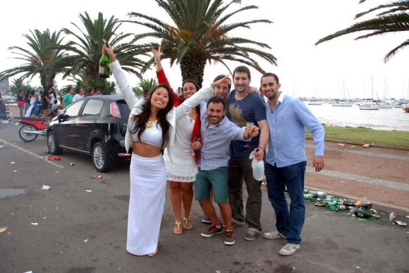 Fin de año en Punta del Este. Foto: Ricardo Figueredo