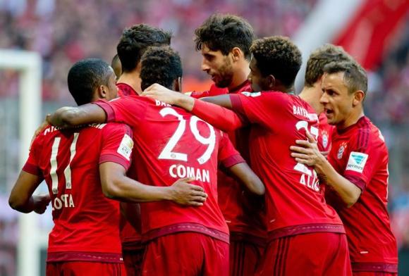 Bayern Múnich cada día más imparable. Foto: EFE