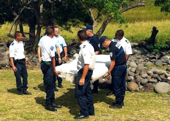 Hallaron restos de un avión y podrían ser del MH370. Foto: AFP
