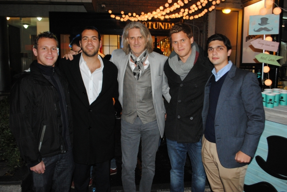Brian Lempert, Javier Birmbaum, Isaac y Patrick Jakter, Bruno Petcho.