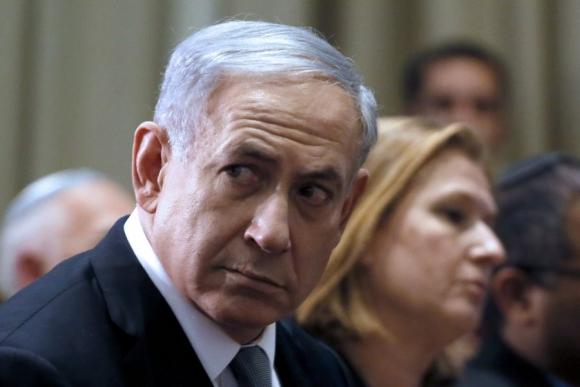 Netanyahu junto a una de sus más afiladas críticas. Foto: AFP
