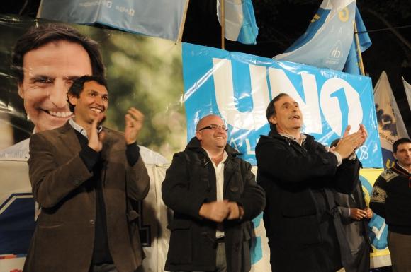 El blanco de la Concertación cerró su campaña en el Municipio CH. Foto: A. Martínez