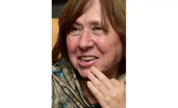 Svetlana Alexievich, foto Maxim Malinovski/ AFP