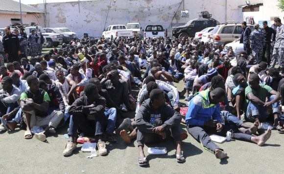 Resultado de imagen de migrantes libia