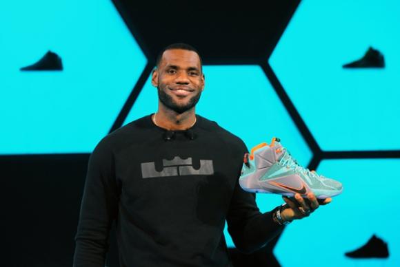 LeBron James. Nike ES