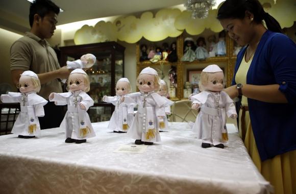 Miles de fieles en Asia preparan la bienvenida al papa Francisco. Foto: Reuters