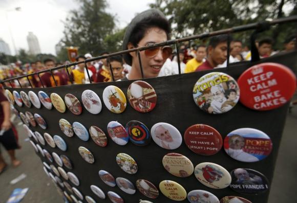 Miles de fieles en Asia preparan la bienvenida al papa Francisco. Foto: EFE