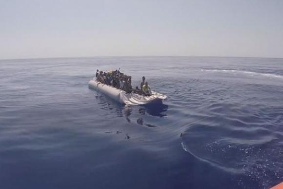 4.400 inmigrantes fueron rescatados en las costas de Italia.