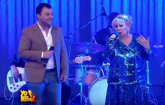 Lucas Sugo y Estela Raval