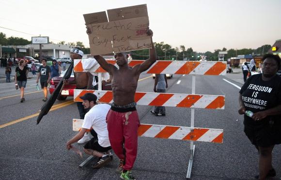 Manifestaciones en Ferguson. Foto: Efe