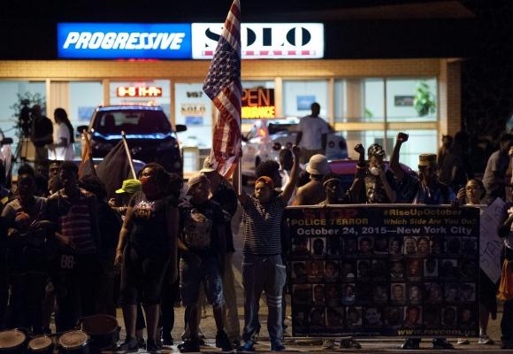 Protestas en Ferguson. Foto: Efe