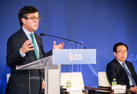 Luis Alberto Moreno, presidente del BID. Foto: EFE