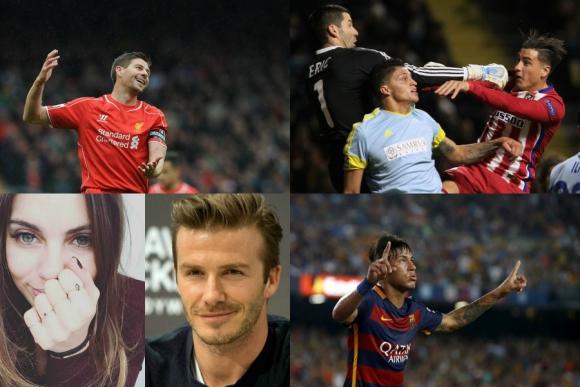 Neymar dominando todo, la comida de Beckham, Gerrard en la NBA y más