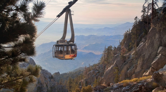 Palm Springs Aerial Tramway. Foto: Facebook Oficial