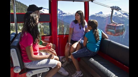 Peak 2 Peak Gondol. Foto: Facebook Oficial