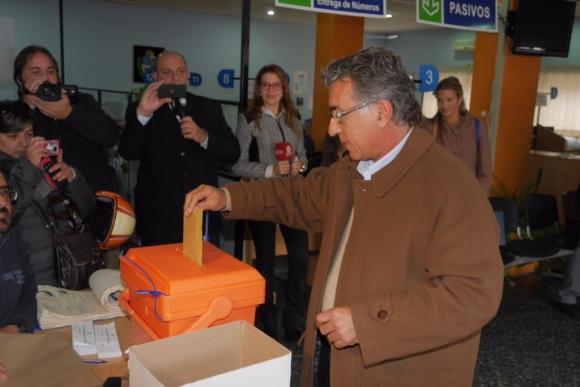 Darío Pérez, candidato del Frente Amplio a la Intendencia de Maldonado. Foto: Ricardo Figuerdo