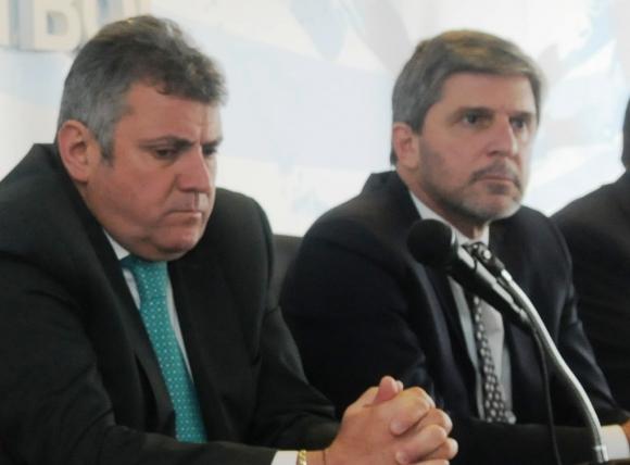 Wilmar Valdez y Alejandro Balbi. Foto: F. Flores