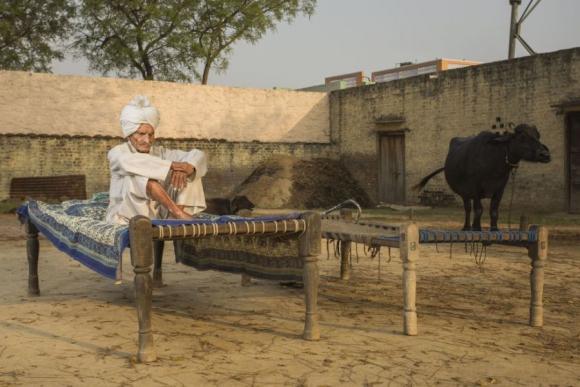 Munshi Ram, Tikri Kalan, India. Foto: Sasha Maslov.