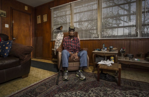 Richard Overton, Austin, Texas. Foto: Sasha Maslov.