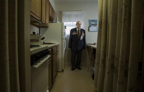 Lev Kaganovitch, Carteret, Nueva Jersey. Foto: Sasha Maslov.