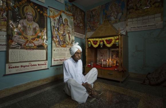 Charin Singh, Nangal, India. Foto: Sasha Maslov.