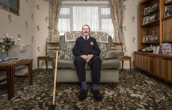 Sidney James Taylor, Norton Canes, Inglaterra. Foto: Sasha Maslov.