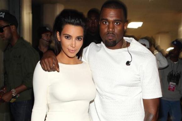 Kim Kardashian y Kanye West (Foto: archivo)
