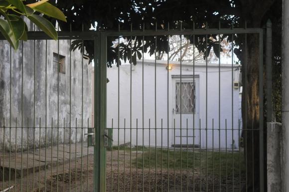 La casa donde Milvana Salomone permaneció secuestrada. Foto: Ariel Colmegna