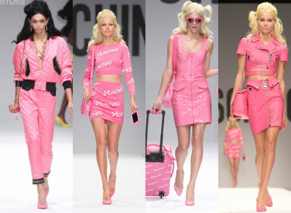 Jeremy Scott también se inspiró en la famosa muñeca Barbie. Foto: Google Images.