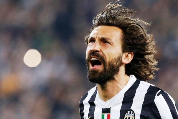 Andrea Pirlo, referencia en el mediocampo de Juventus. Foto: Archivo El País.