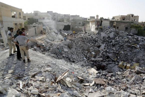 Según el Kremlin, la aviación rusa atacó al Estado Islámico en el norte de Siria. Foto: Reuters.