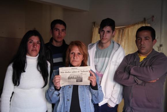 Tragedia barreminas Valiente: Foto: Archivo El País