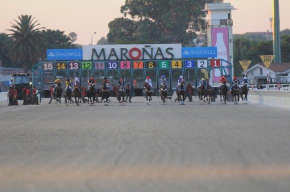 El Hipódromo de Maroñas tendrá el martes la presencia de Louis Romanet. Foto: Archivo.