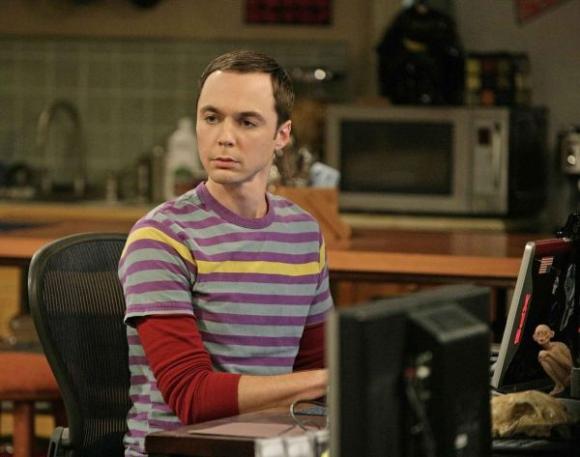 Sheldon Cooper de la serie The Big Bang Theory. Foto: Archivo El País.