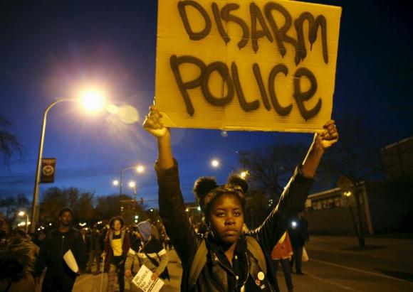 Hay 10.000 agentes de Policía y de Guardia Nacional movilizados en Baltimore.