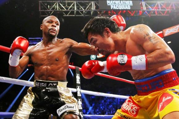Mayweather vs. Pacquiao. Foto: Reuters